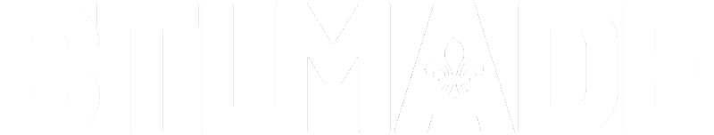 STL Made logo white