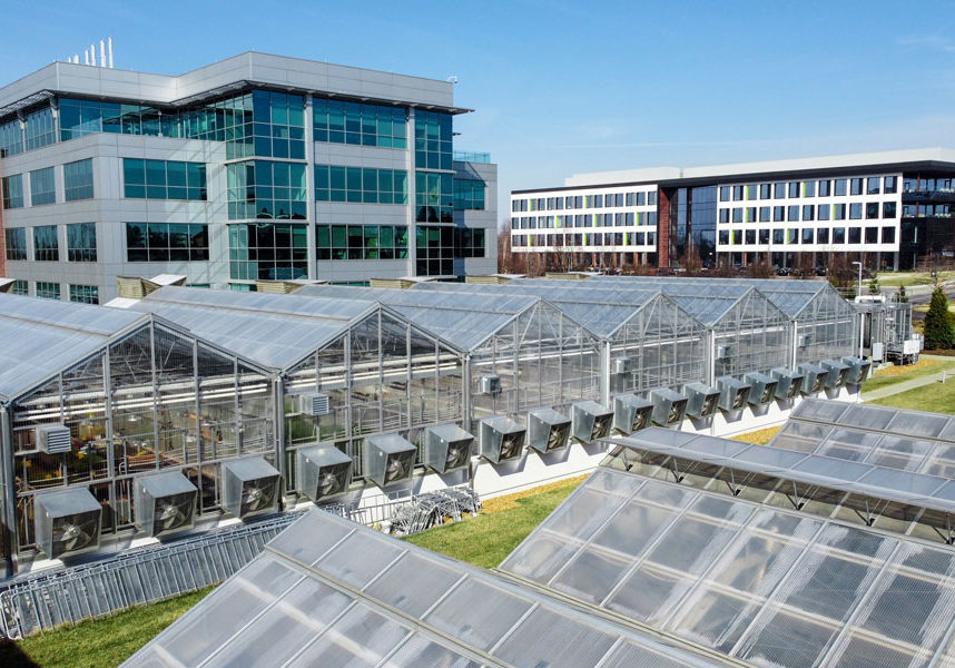 BRDG Park at the Danforth Plant Science Center Campus Aerial