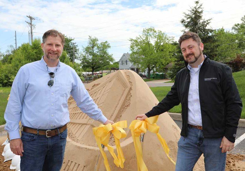 Benson Hill CEO Matt Crisp Ribbon Cutting