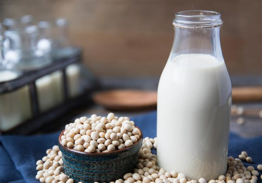 fresh soy milk